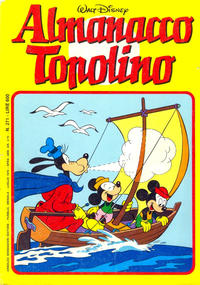 Cover Thumbnail for Almanacco Topolino (Arnoldo Mondadori Editore, 1957 series) #271