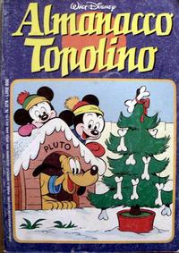Cover Thumbnail for Almanacco Topolino (Arnoldo Mondadori Editore, 1957 series) #276