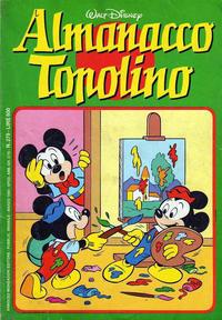 Cover Thumbnail for Almanacco Topolino (Arnoldo Mondadori Editore, 1957 series) #279