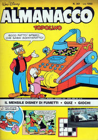 Cover Thumbnail for Almanacco Topolino (Arnoldo Mondadori Editore, 1957 series) #301