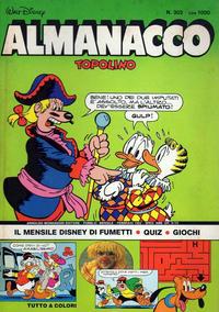Cover Thumbnail for Almanacco Topolino (Arnoldo Mondadori Editore, 1957 series) #302