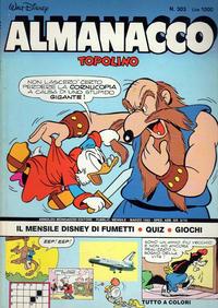 Cover Thumbnail for Almanacco Topolino (Arnoldo Mondadori Editore, 1957 series) #303