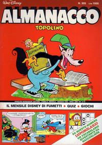 Cover Thumbnail for Almanacco Topolino (Arnoldo Mondadori Editore, 1957 series) #305