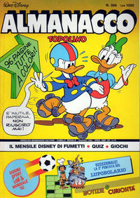 Cover Thumbnail for Almanacco Topolino (Arnoldo Mondadori Editore, 1957 series) #306