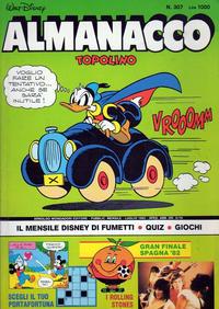 Cover Thumbnail for Almanacco Topolino (Arnoldo Mondadori Editore, 1957 series) #307
