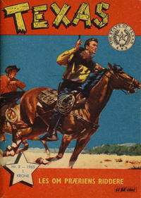 Cover Thumbnail for Texas (Serieforlaget / Se-Bladene / Stabenfeldt, 1953 series) #8/1963