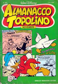 Cover Thumbnail for Almanacco Topolino (Arnoldo Mondadori Editore, 1957 series) #323
