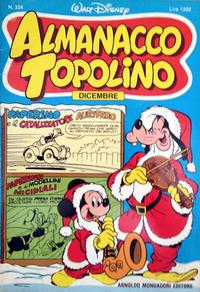 Cover Thumbnail for Almanacco Topolino (Arnoldo Mondadori Editore, 1957 series) #324