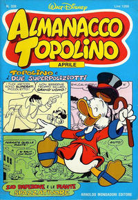 Cover Thumbnail for Almanacco Topolino (Arnoldo Mondadori Editore, 1957 series) #328