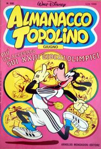 Cover Thumbnail for Almanacco Topolino (Arnoldo Mondadori Editore, 1957 series) #330