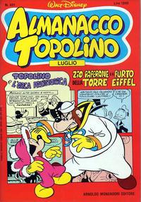 Cover Thumbnail for Almanacco Topolino (Arnoldo Mondadori Editore, 1957 series) #331