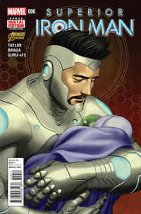 Cover Thumbnail for Superior Iron Man (Marvel, 2015 series) #6