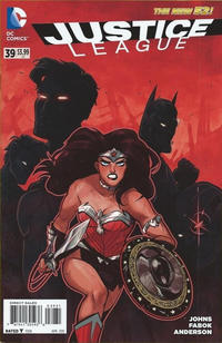 Cover Thumbnail for Justice League (DC, 2011 series) #39 [1:25 Variant]
