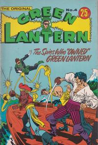 Cover Thumbnail for The Original Green Lantern (K. G. Murray, 1974 series) #4