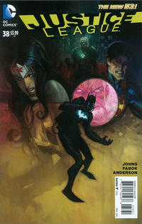 Cover Thumbnail for Justice League (DC, 2011 series) #38 [Andrew Robinson Variant Cover]