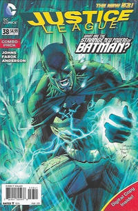 Cover Thumbnail for Justice League (DC, 2011 series) #38 [Combo Pack]
