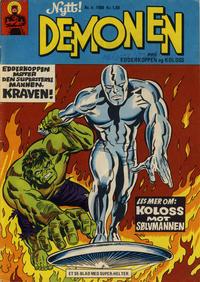 Cover Thumbnail for Demonen (Serieforlaget / Se-Bladene / Stabenfeldt, 1969 series) #4/1969