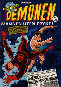 Cover Thumbnail for Demonen (Serieforlaget / Se-Bladene / Stabenfeldt, 1968 series) #7/1968