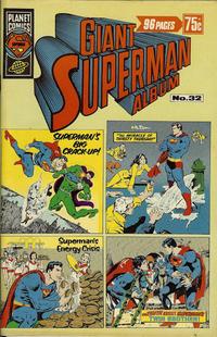 Cover Thumbnail for Giant Superman Album (K. G. Murray, 1963 ? series) #32