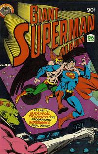 Cover Thumbnail for Giant Superman Album (K. G. Murray, 1963 ? series) #42