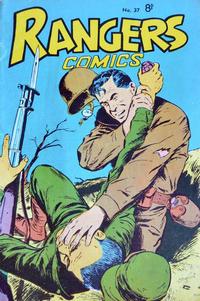 Cover Thumbnail for Rangers Comics (H. John Edwards, 1950 ? series) #37