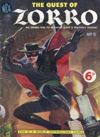 Cover Thumbnail for Zorro (World Distributors, 1955 series) #5