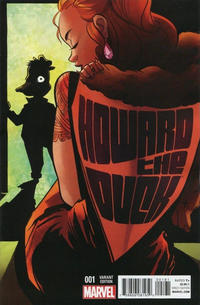 Cover Thumbnail for Howard the Duck (Marvel, 2015 series) #1 [Variant Edition - Erica Henderson Cover]