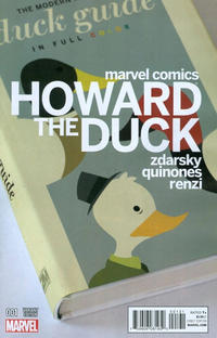Cover Thumbnail for Howard the Duck (Marvel, 2015 series) #1 [Variant Edition - Chip Zdarsky Cover]
