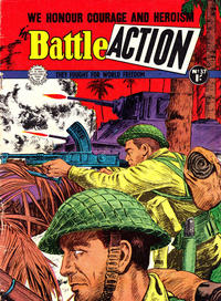Cover Thumbnail for Battle Action (Horwitz, 1954 ? series) #37