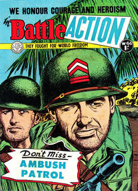 Cover Thumbnail for Battle Action (Horwitz, 1954 ? series) #66