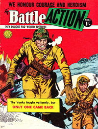Cover Thumbnail for Battle Action (Horwitz, 1954 ? series) #52