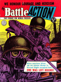Cover Thumbnail for Battle Action (Horwitz, 1954 ? series) #49