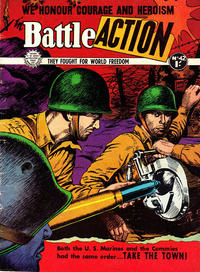 Cover Thumbnail for Battle Action (Horwitz, 1954 ? series) #42