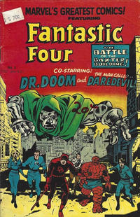 Cover Thumbnail for Fantastic Four (Yaffa / Page, 1981 series) #4