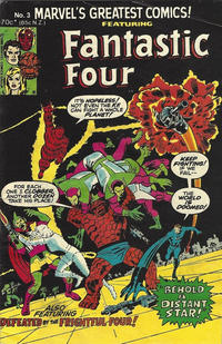 Cover for Fantastic Four (Yaffa / Page, 1981 series) #3