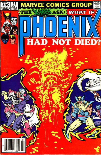 Cover for What If? (Marvel, 1977 series) #27 [Direct Edition]