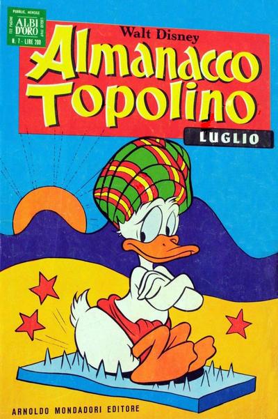 Cover for Almanacco Topolino (Arnoldo Mondadori Editore, 1957 series) #151