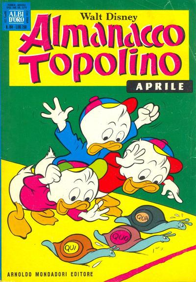 Cover for Almanacco Topolino (Arnoldo Mondadori Editore, 1957 series) #184