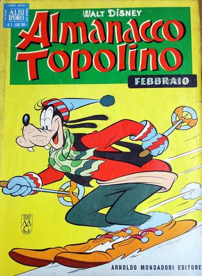Cover for Almanacco Topolino (Arnoldo Mondadori Editore, 1957 series) #122