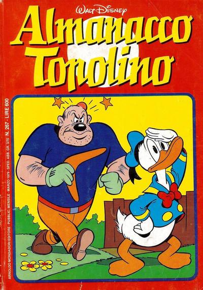 Cover for Almanacco Topolino (Arnoldo Mondadori Editore, 1957 series) #267