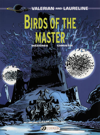 Cover for Valerian and Laureline (Cinebook, 2010 series) #5 - Birds of the Master