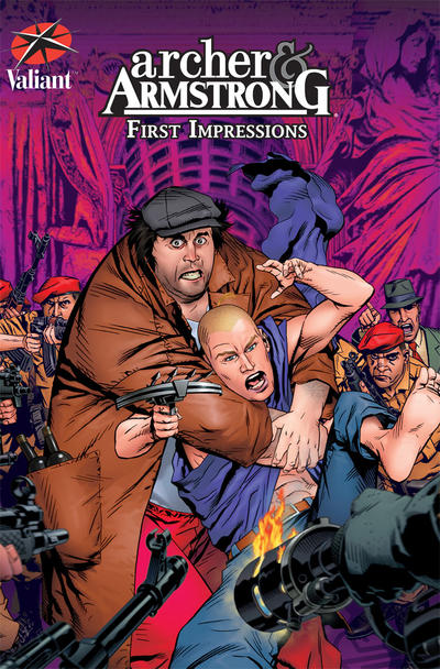 Cover for Archer and Armstrong: First Impressions (Valiant Entertainment, 2008 series)