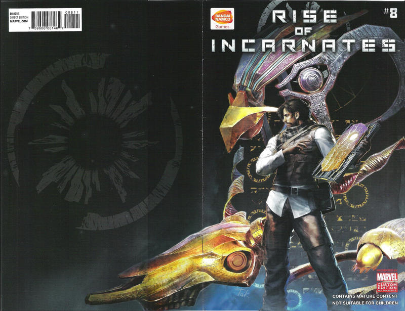 Cover for Rise of Incarnates (Marvel, 2014 series) #8