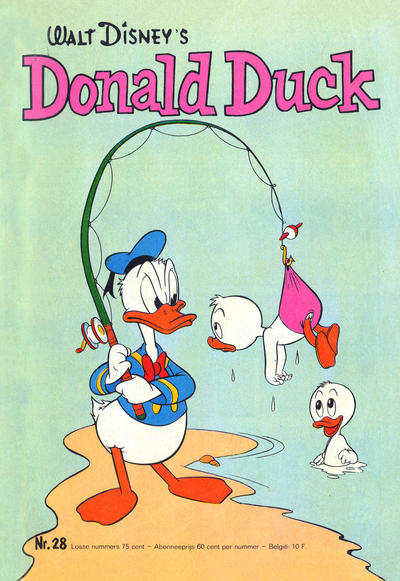 Cover for Donald Duck (Oberon, 1972 series) #28/1973