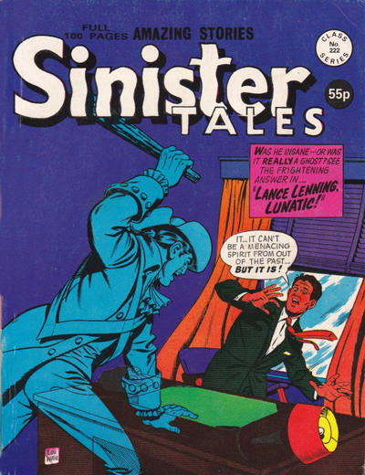 Cover for Sinister Tales (Alan Class, 1964 series) #222