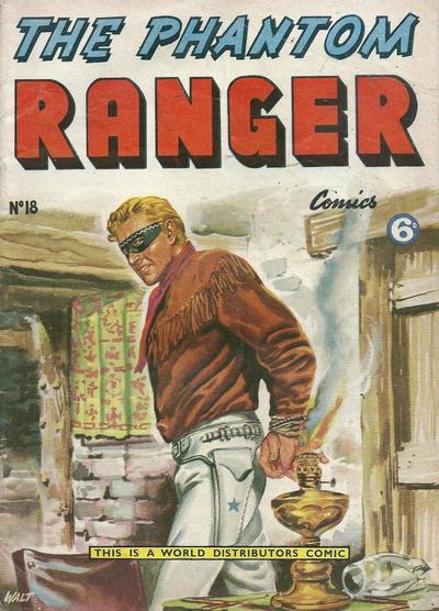 Cover for The Phantom Ranger (World Distributors, 1955 series) #18