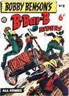 Cover for Bobby Benson's  B-Bar-B Riders (World Distributors, 1950 series) #8