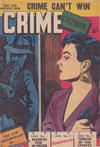 Cover for Crime Casebook (Horwitz, 1953 ? series) #16