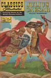 Cover for Classics Illustrated (Gilberton, 1947 series) #68 [HRN 167] - Julius Caesar [Edgar Rice Burroughs promo]
