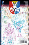Cover Thumbnail for The Multiversity: Ultra Comics (2015 series) #1 [1:100 Grant Morrison Sketch Cover Variant]